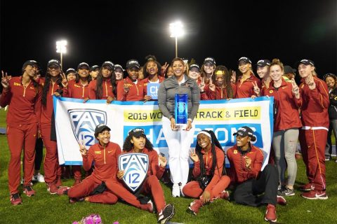 USC women's track and field team