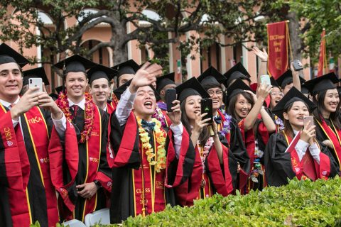 2019 USC commencement pictures
