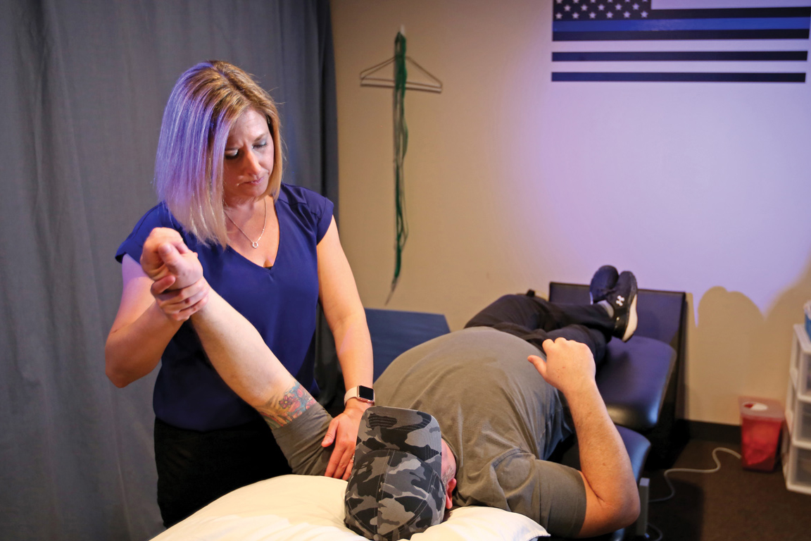 law enforcement physical therapy