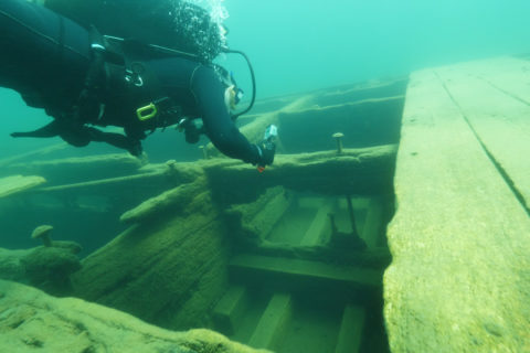 Sunken boats California hidden heritage