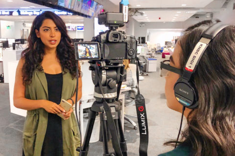 Aliya Jasmine environmental journalism