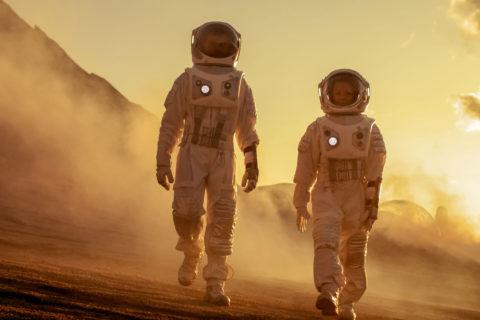 Mars astronauts Moonshot
