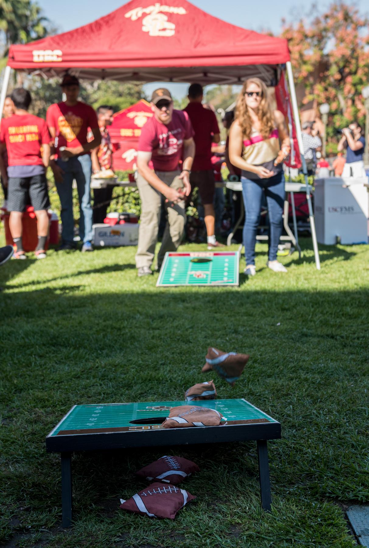 tailgating USC football