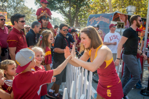 USC traditions and Trojan life