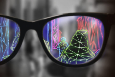 AR glasses for low vision
