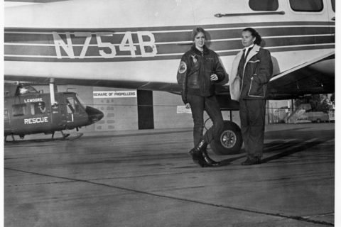 Angela Masson first female pilot 747