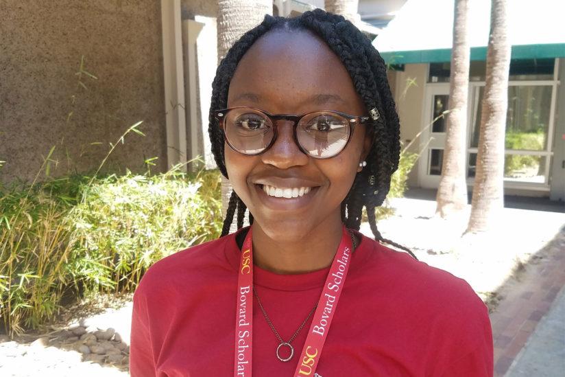 USC Bovard Scholar Belinda Davenport