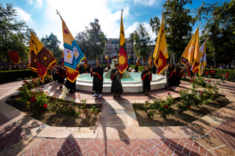 USC new student convocation 2019