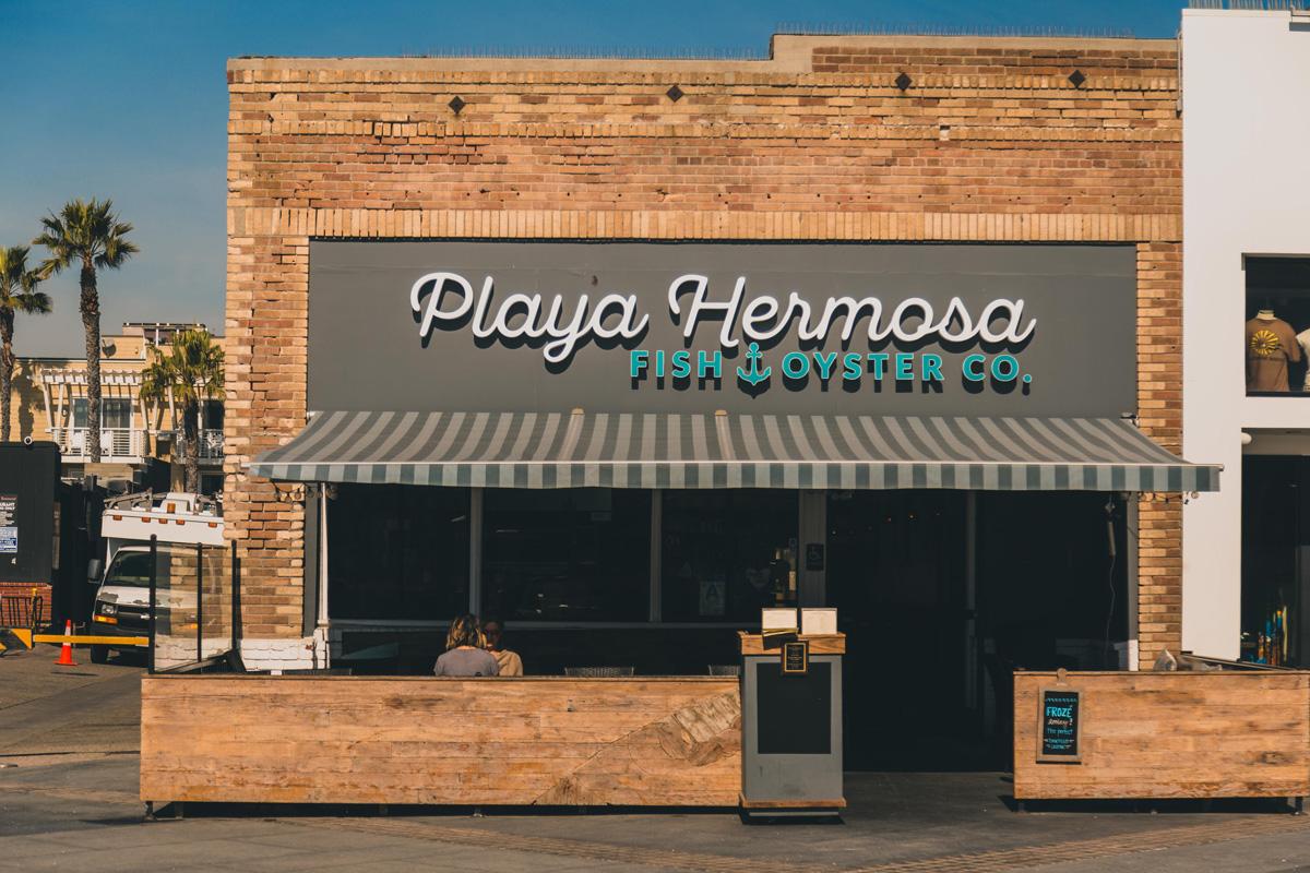 Playa Hermosa storefront.