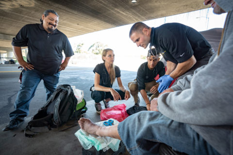 Street medicine program USC