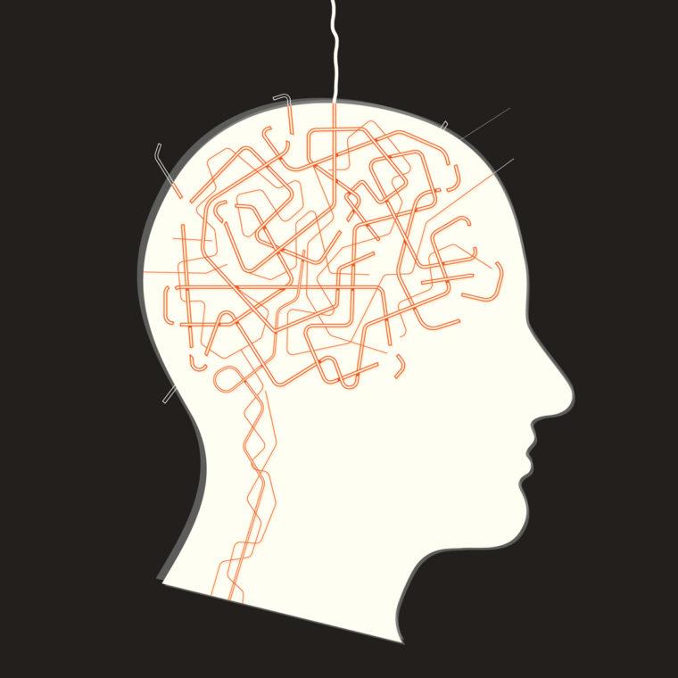 brain illustration epilepsy signals
