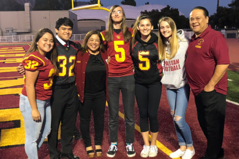 USC siblings Lee and Shute families