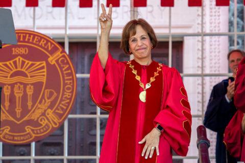 Carol Folt inauguration