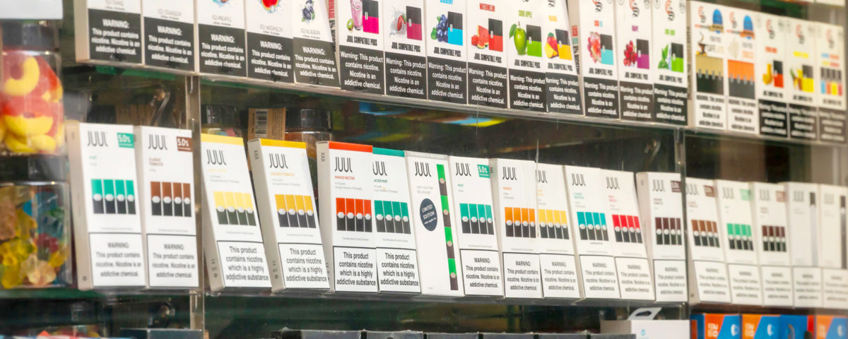 Flavored e-cigs young adults