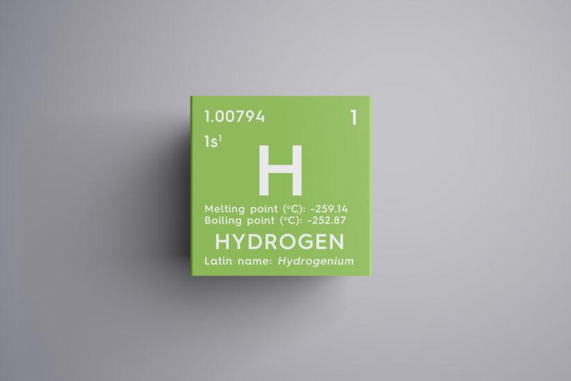 hydrogen fuel symbol