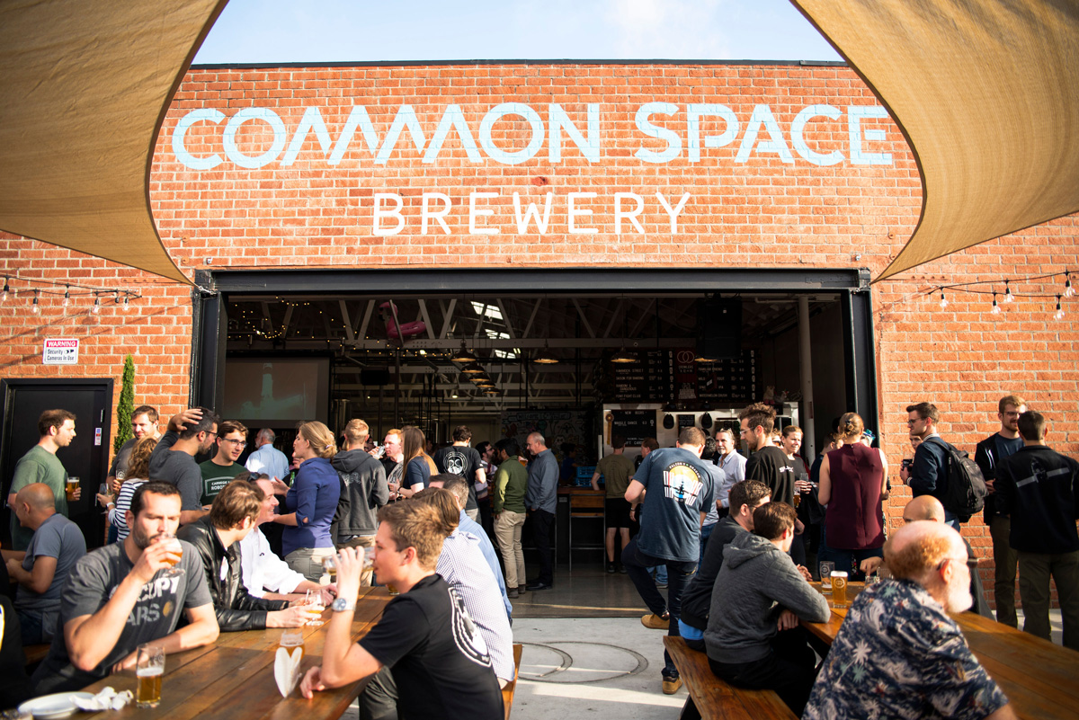 Photo of Common Space Brewing storefront