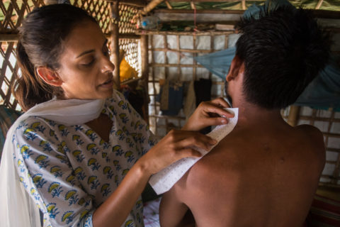 Rohingya refugees parmar