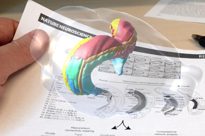 Schol-AR augmented reality app