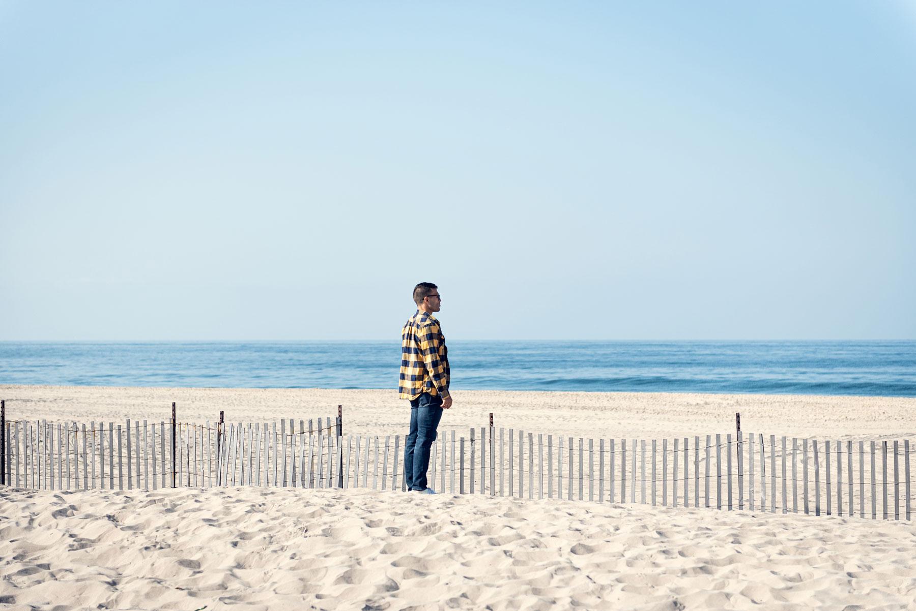 Alfred Brown IV beach