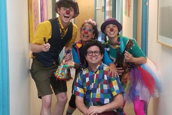medical clowning USC