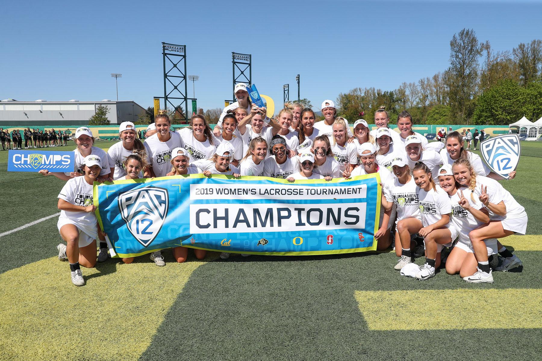 USC women's lacrosse Pac 12 champions