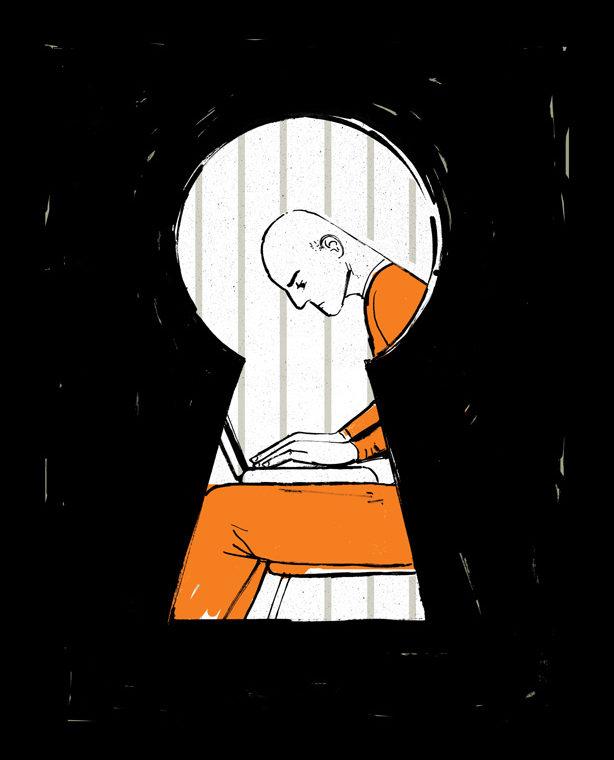ex-convict illustration