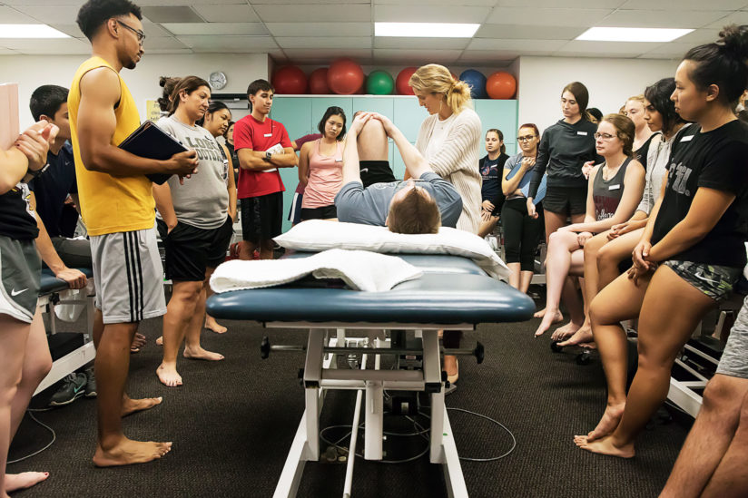 USC immersion doctor of physical therapy program