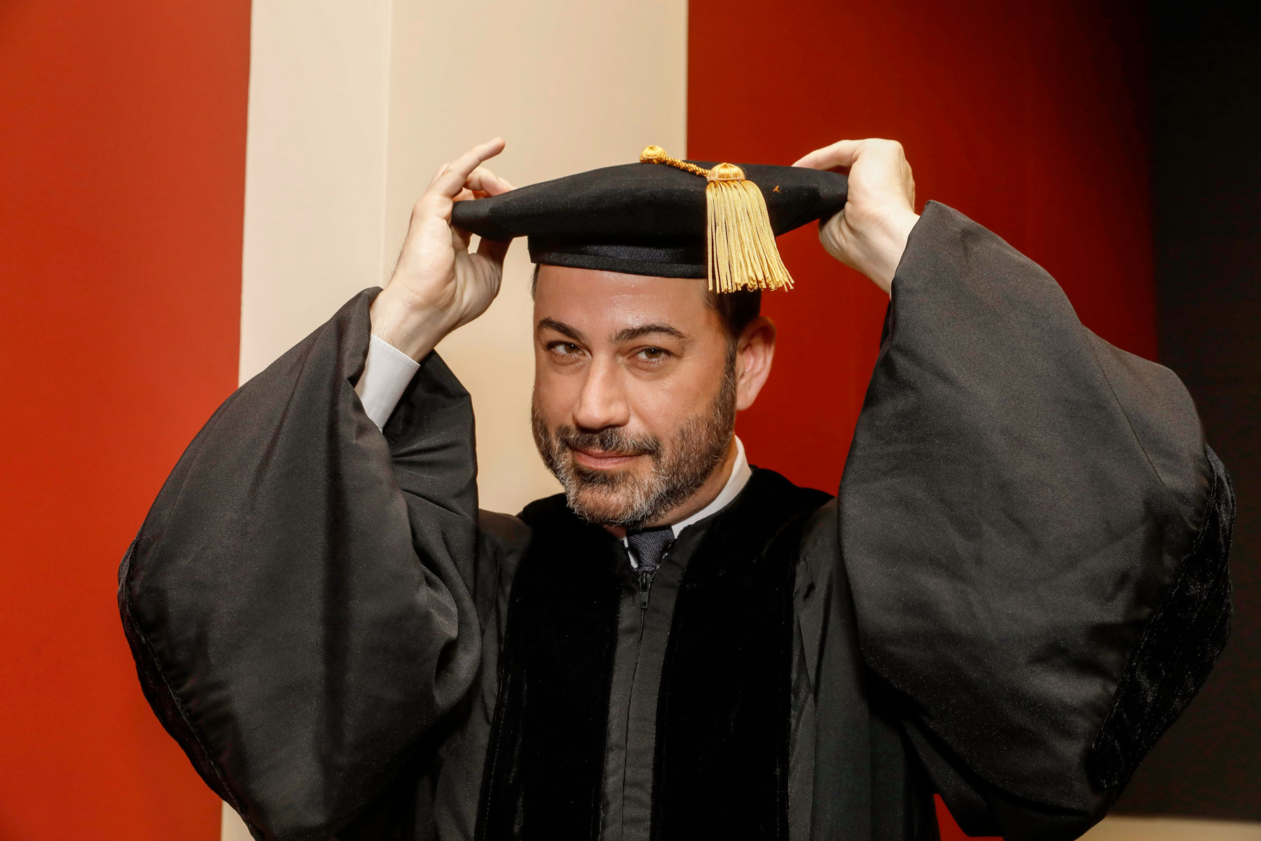 Jimmy Kimmel medical school graduation USC