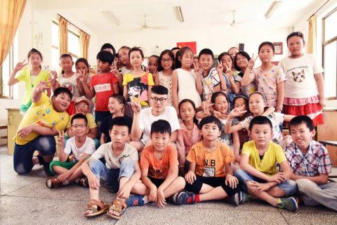 Little Fir Foundation students