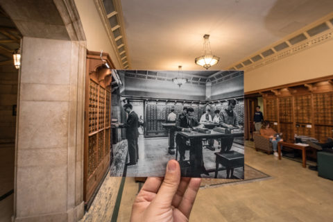USC Doheny Library cards