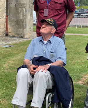 Trojan Travel trip WWII veteran returns to Europe