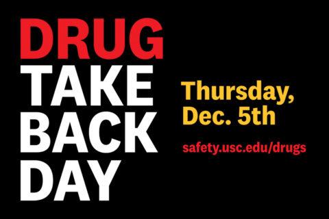 drug take back day USC