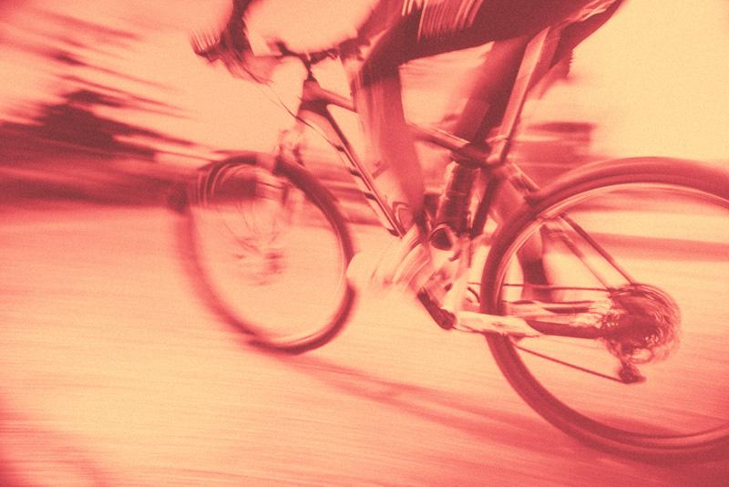 Cyclist at USC sports medicine