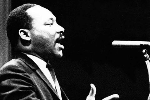 Martin Luther King Jr. at Bovard Auditorium