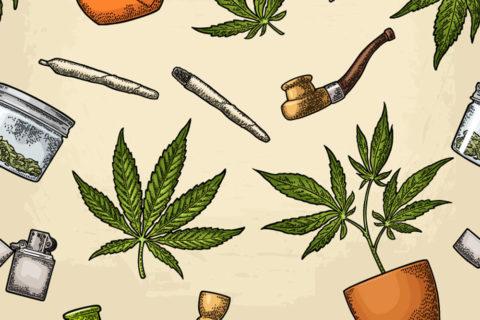 Cannabis dabbing teens