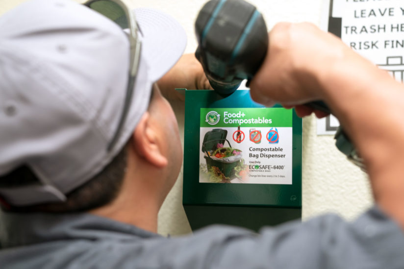USC compost bins