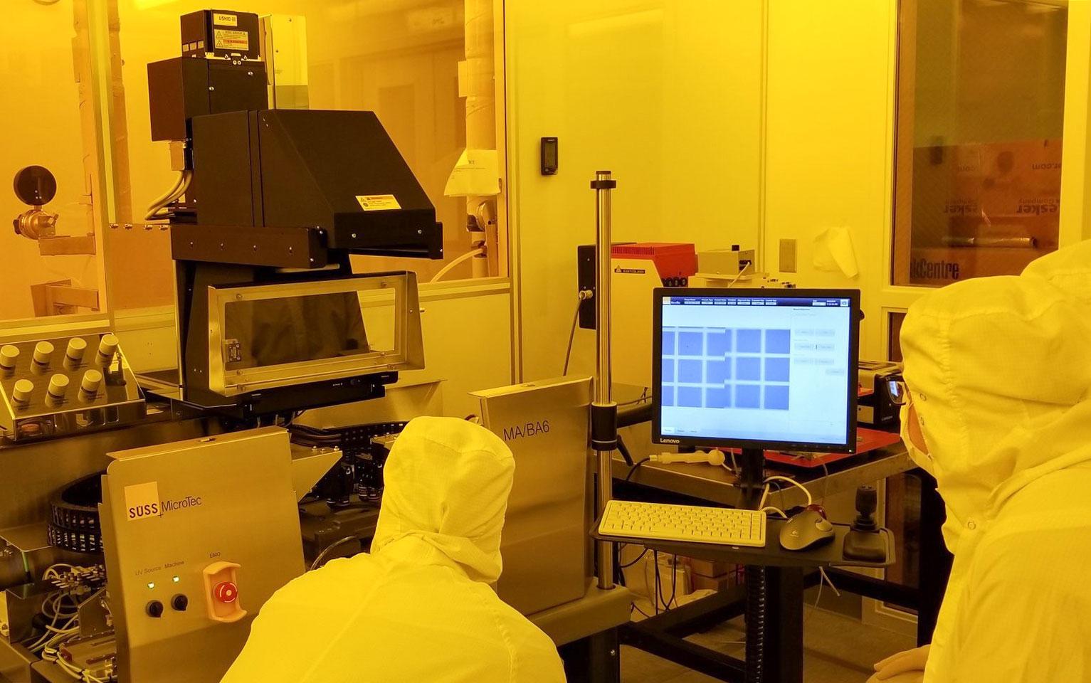 Armani Lab cleanroom