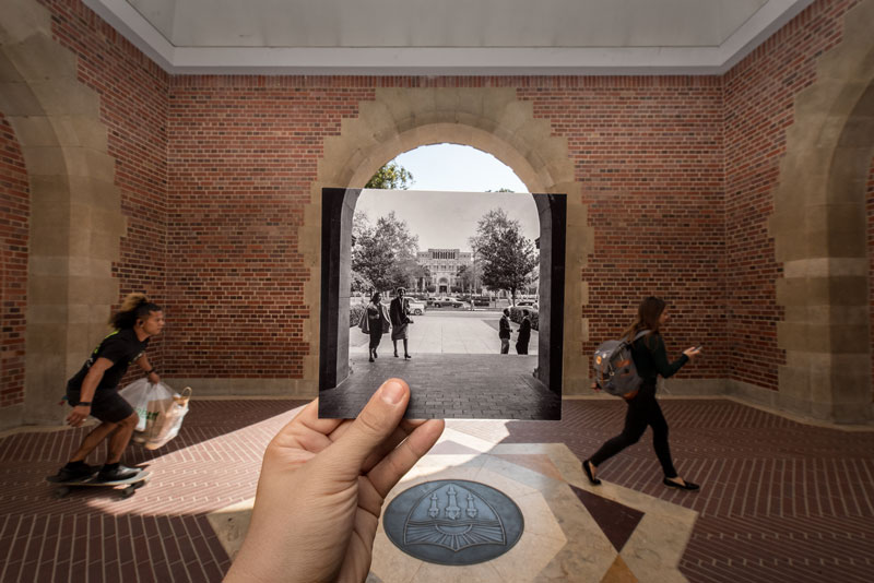 USC students after World War II