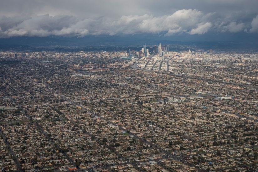 heat Los Angeles vulnerable communities