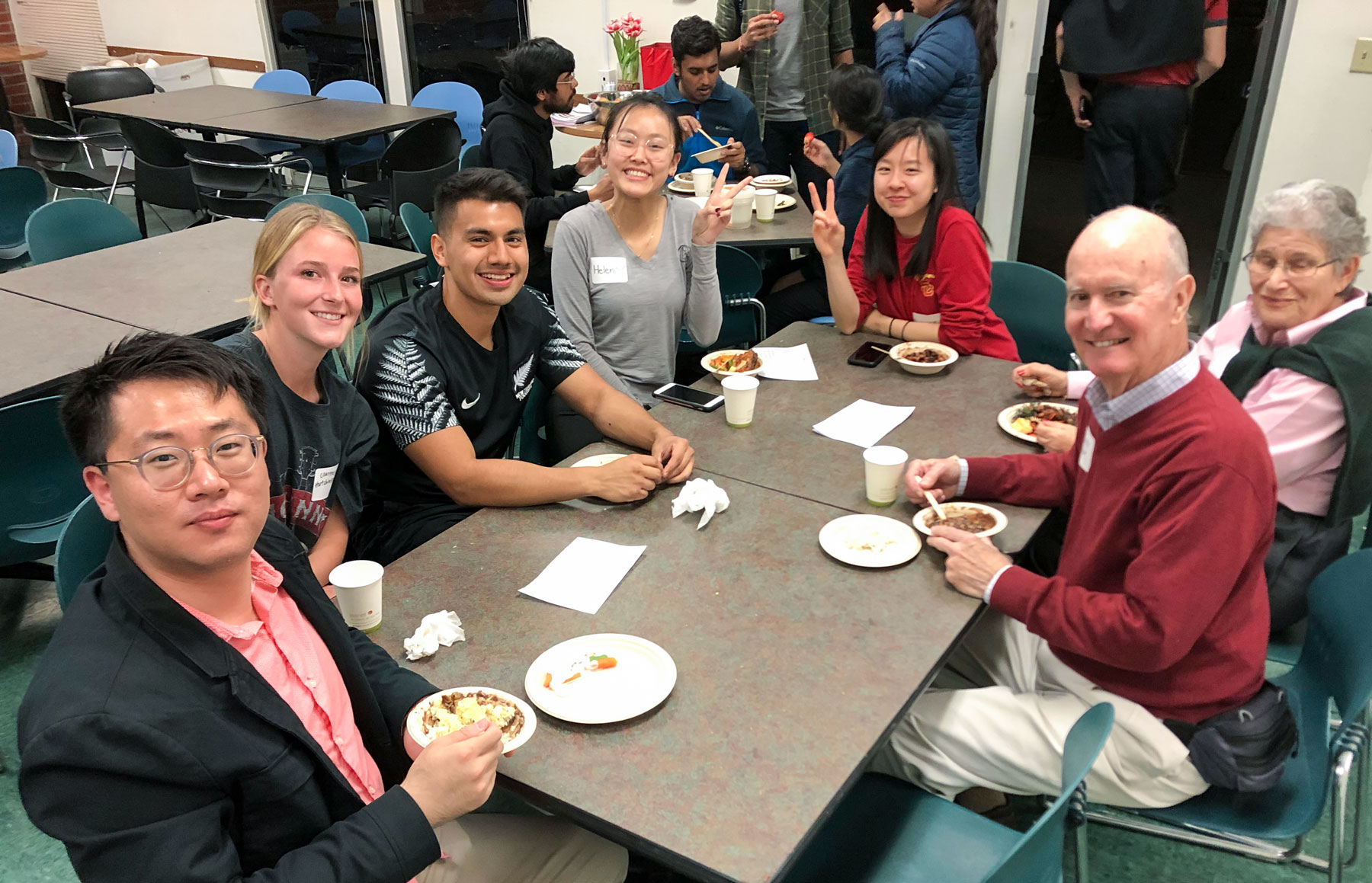 USC Trojan Table free dinner