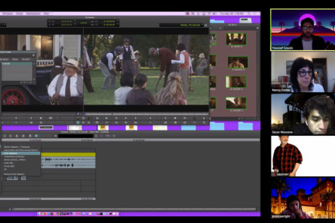 USC School of Cinematic Arts edit from home
