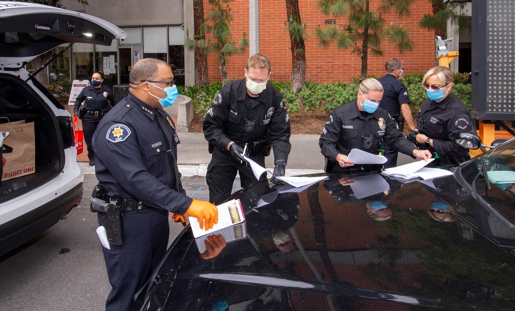 LAPD DPS donation