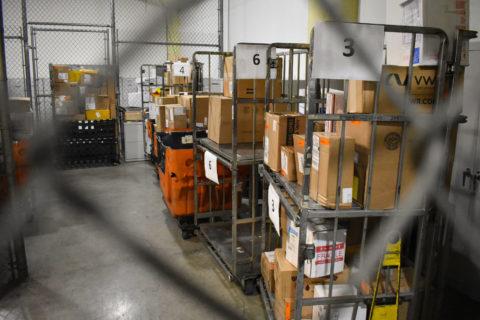 USC mail facility COVID 19