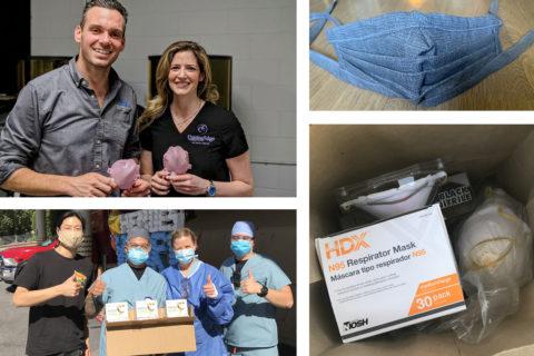 USC alumni PPE donations COVID-19