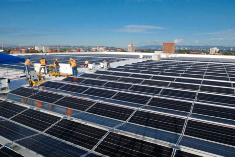 USC Galen Center solar project