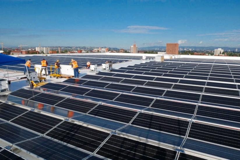 USC Galen Center solar project