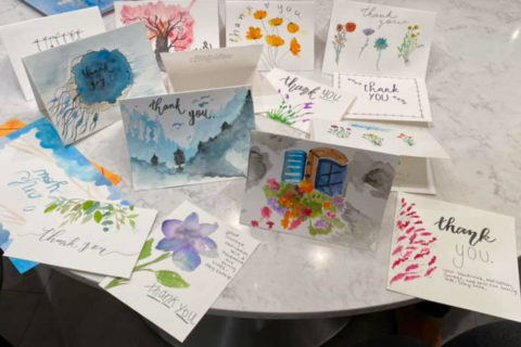 thank you cards for usc doctors and nurses