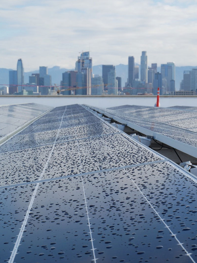 Galen solar panels