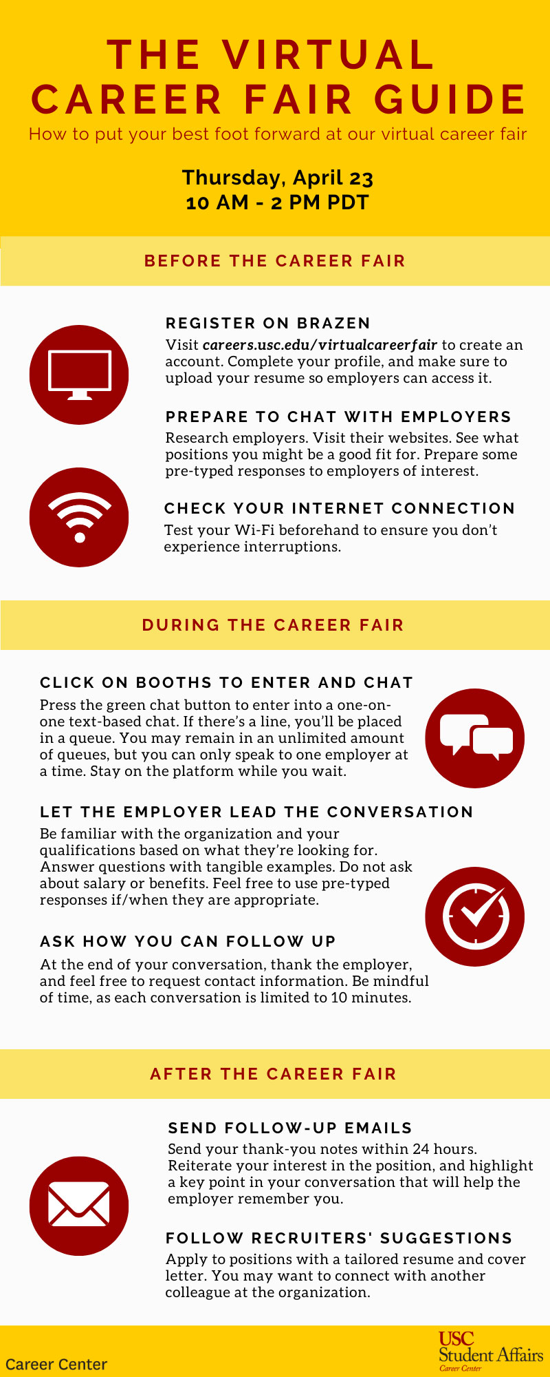 virtual career fair guide