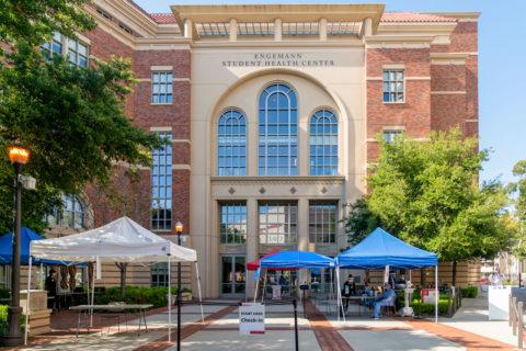 USC Student Health Center COVID-19